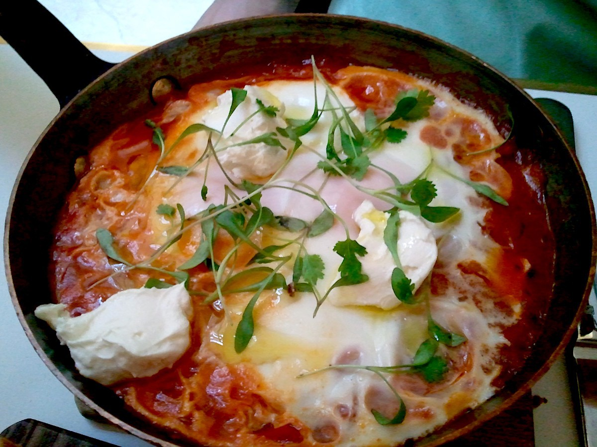 Shakshuka (c) Inspirational food CC BY-NC 2.0