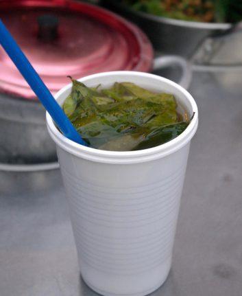 Thé aux feuilles de coca