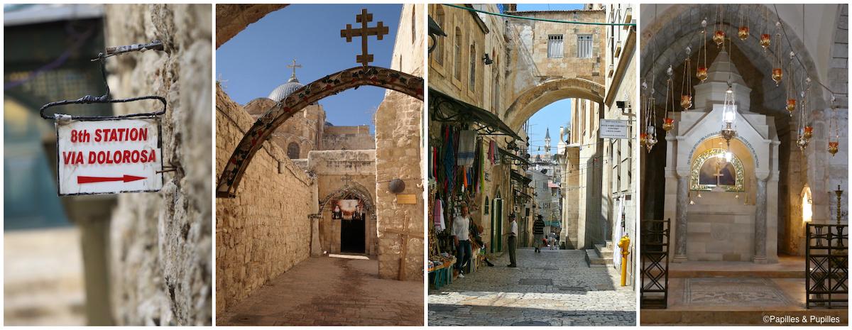 VIa Dolorosa - Le chemin de croix - Jerusalem