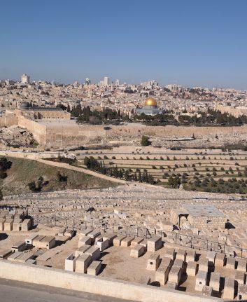 Vue sur Jérusalem depuis le Mont des Oliviers