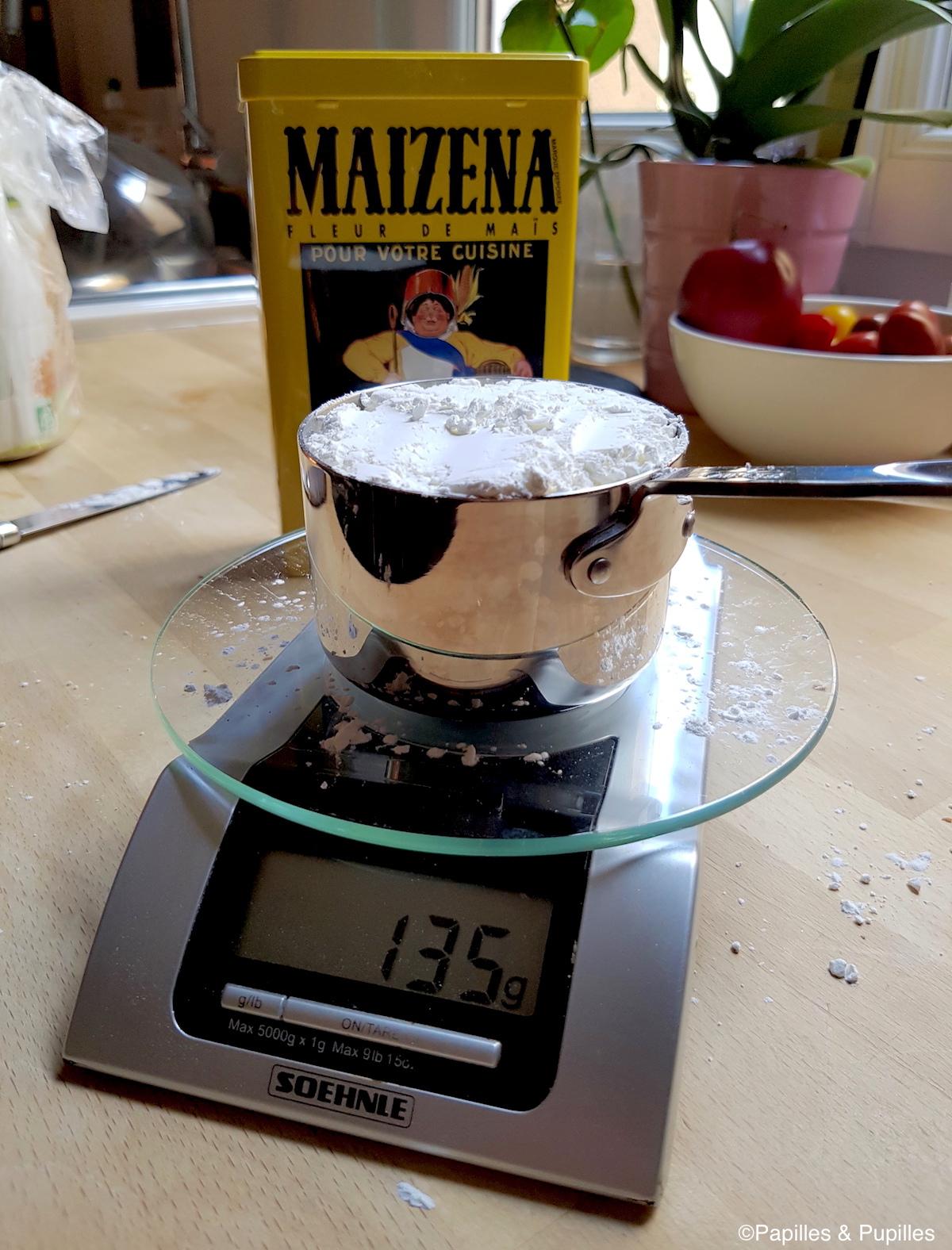 1 tasse de Maizena