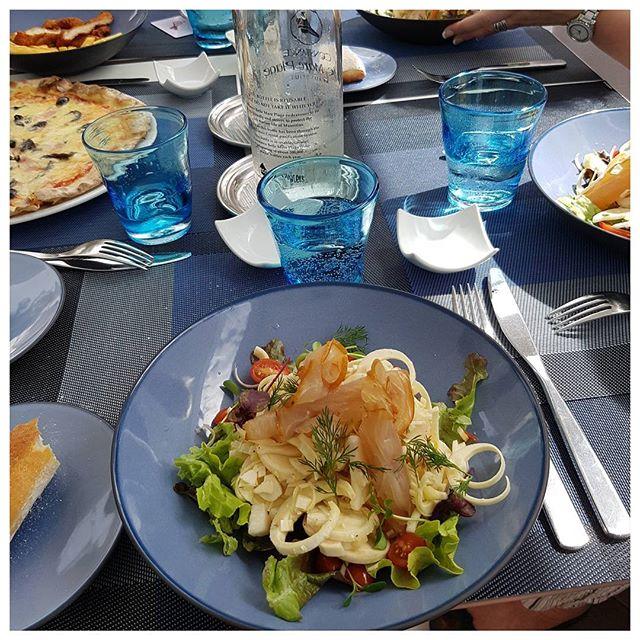 Salade de palmiste (coeurs de palmiers) et marlin fumé #festivalbernardloiseau #constanceculinary