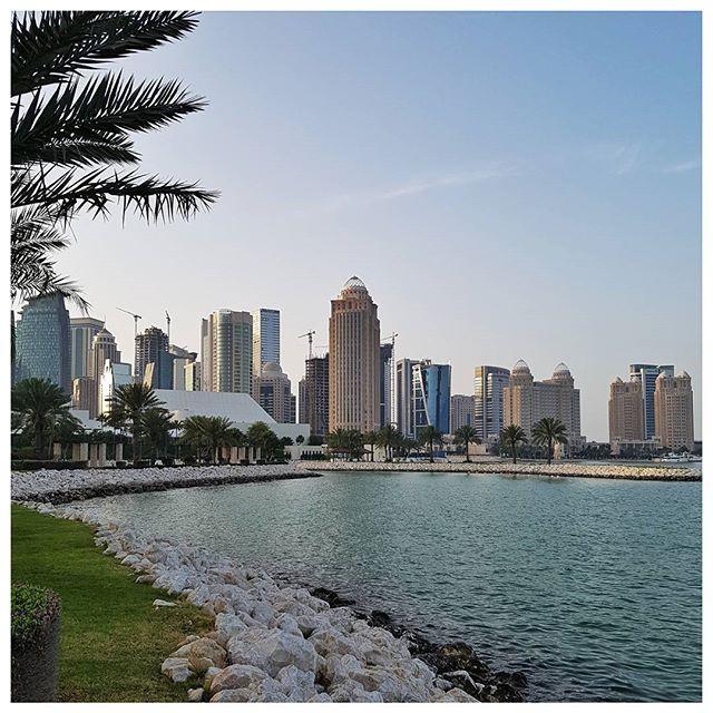 Une partie de la skyline Doha ☉