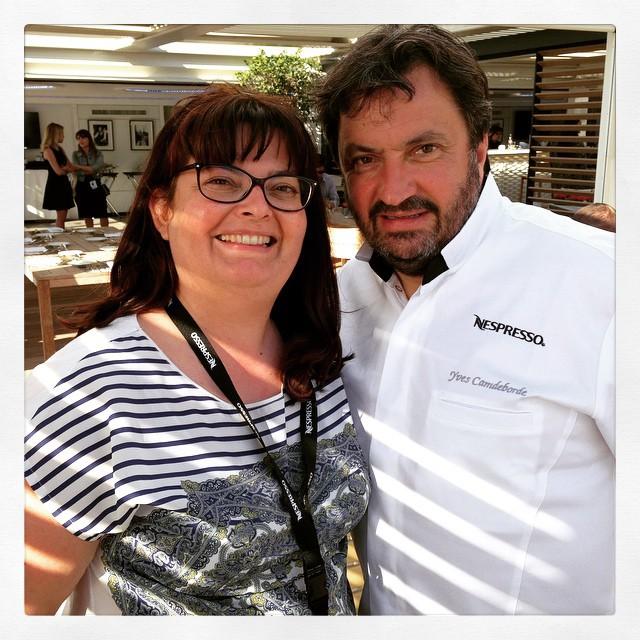 Avec Yves Camdeborde à Cannes