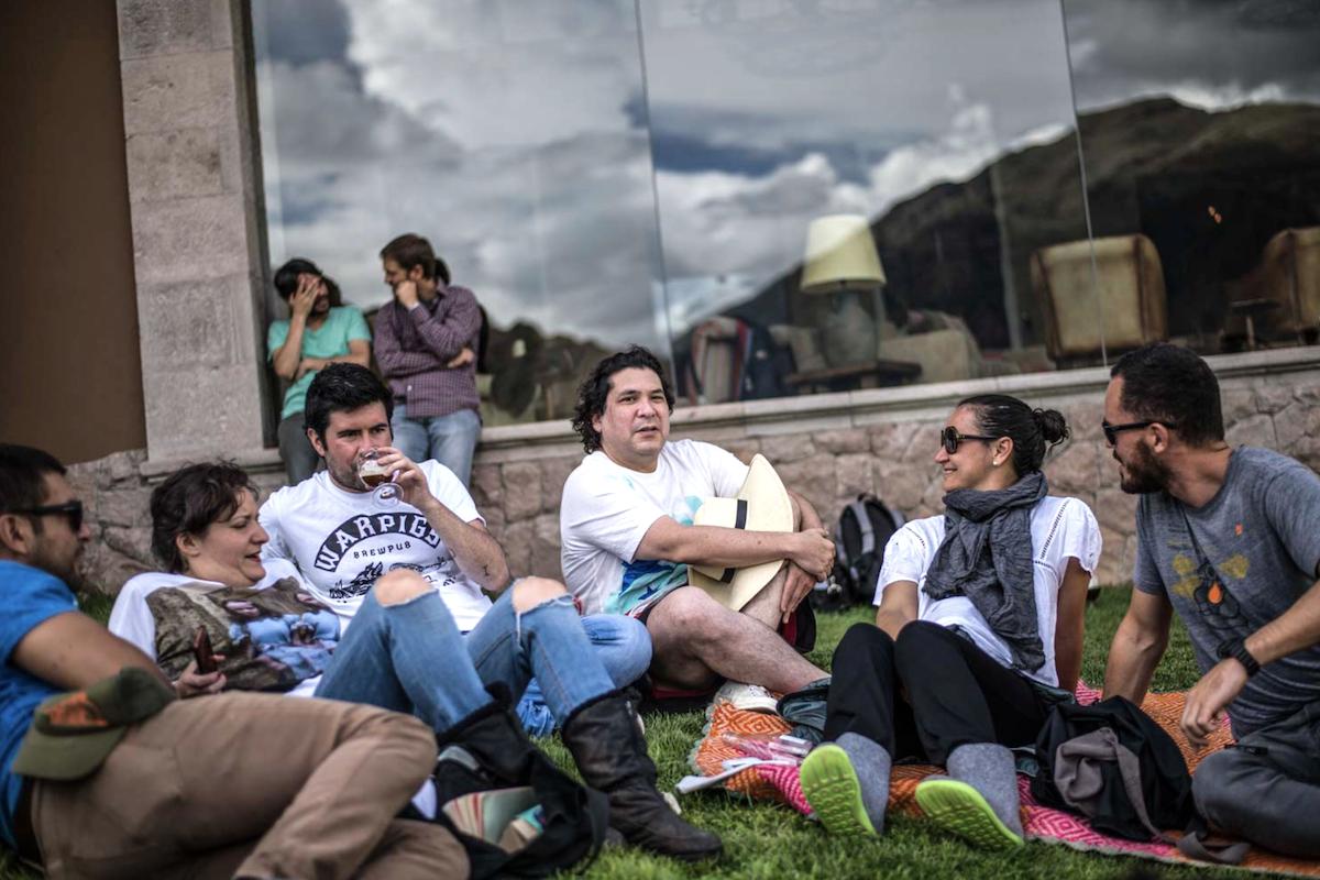 Gaston Acurio - Momento Andes - Urubamba, Pérou