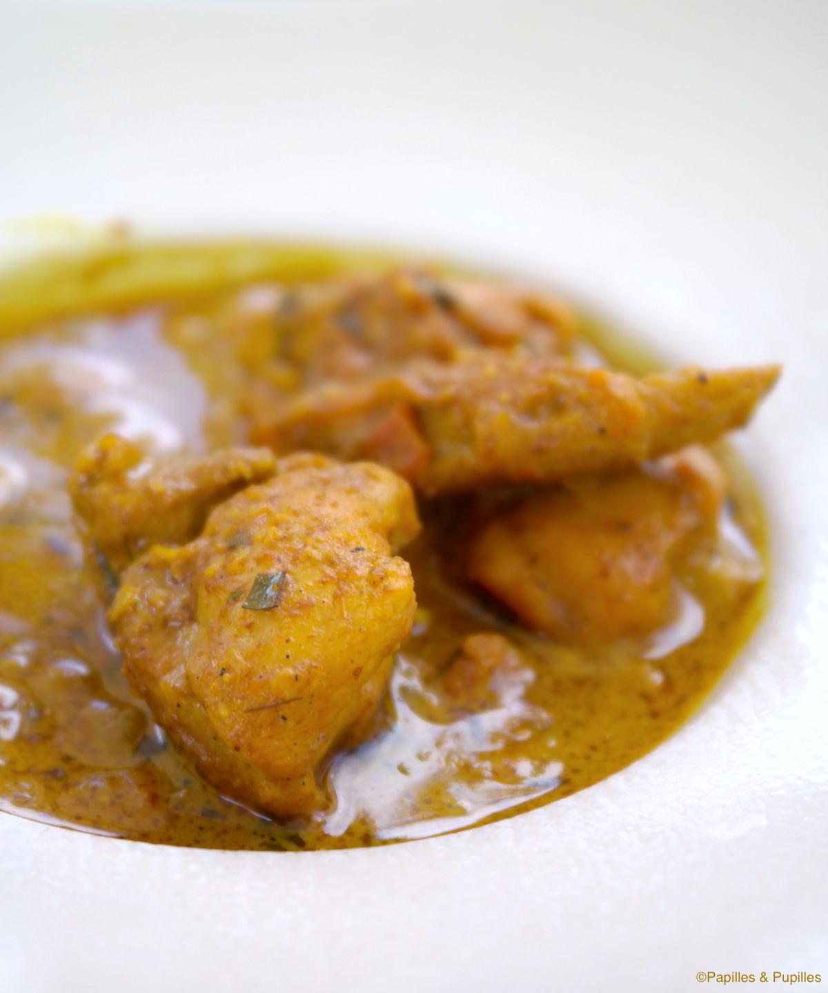 curry poulet au garam masala. Black Bedroom Furniture Sets. Home Design Ideas