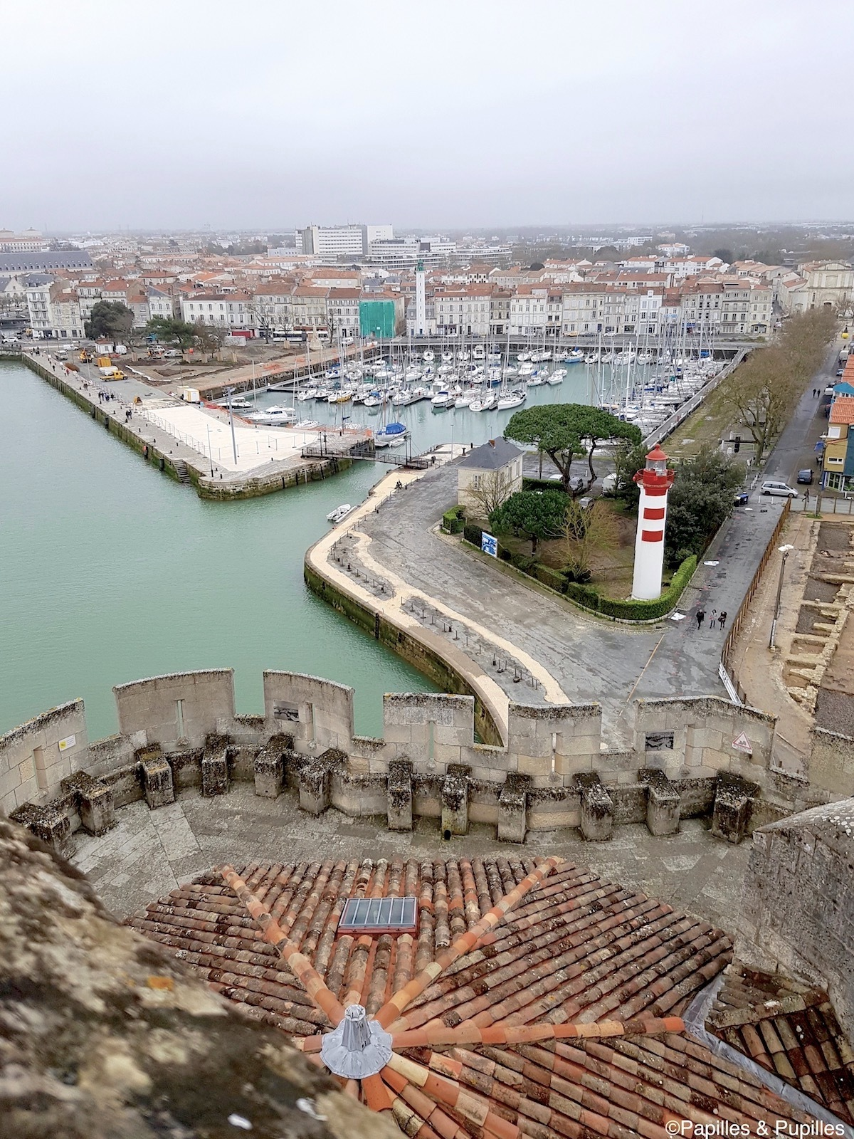 Port de la Rochelle - Vue depuis la Tour Saint Nicolas