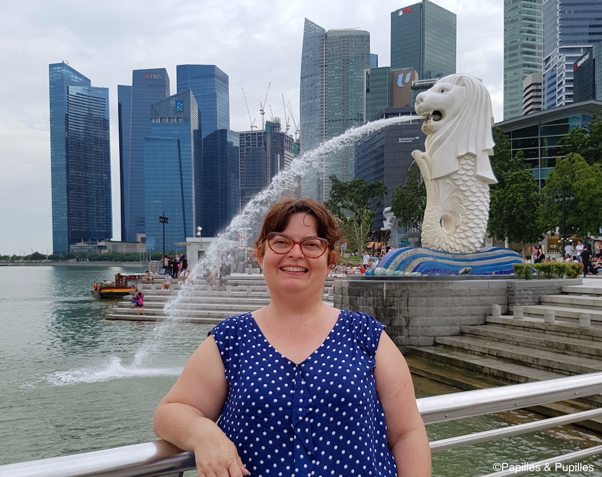 Anne Merlion Singapour