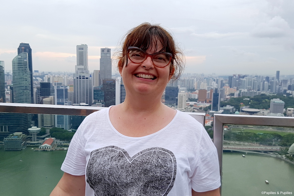 Anne, Marina Bay Sands, Singapour