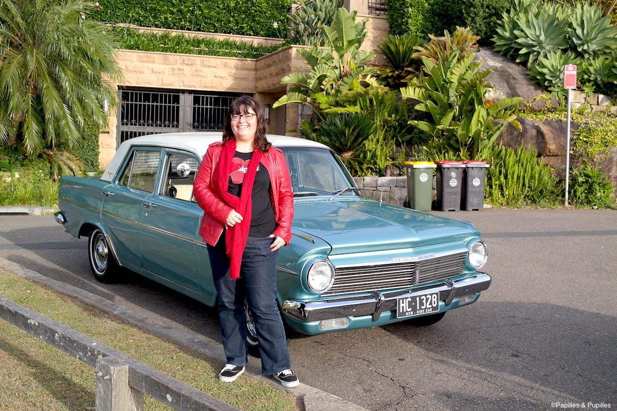 Avec la Holden de Richard de My Sydney Detour