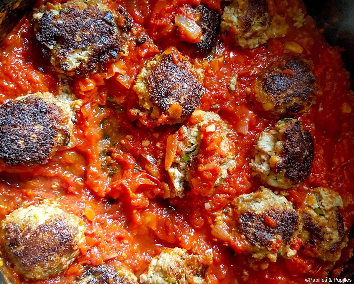 Boulettes dans la sauce tomate