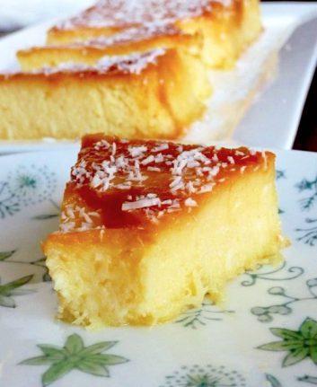 Gâteau ananas coco sans lait et sans beurre