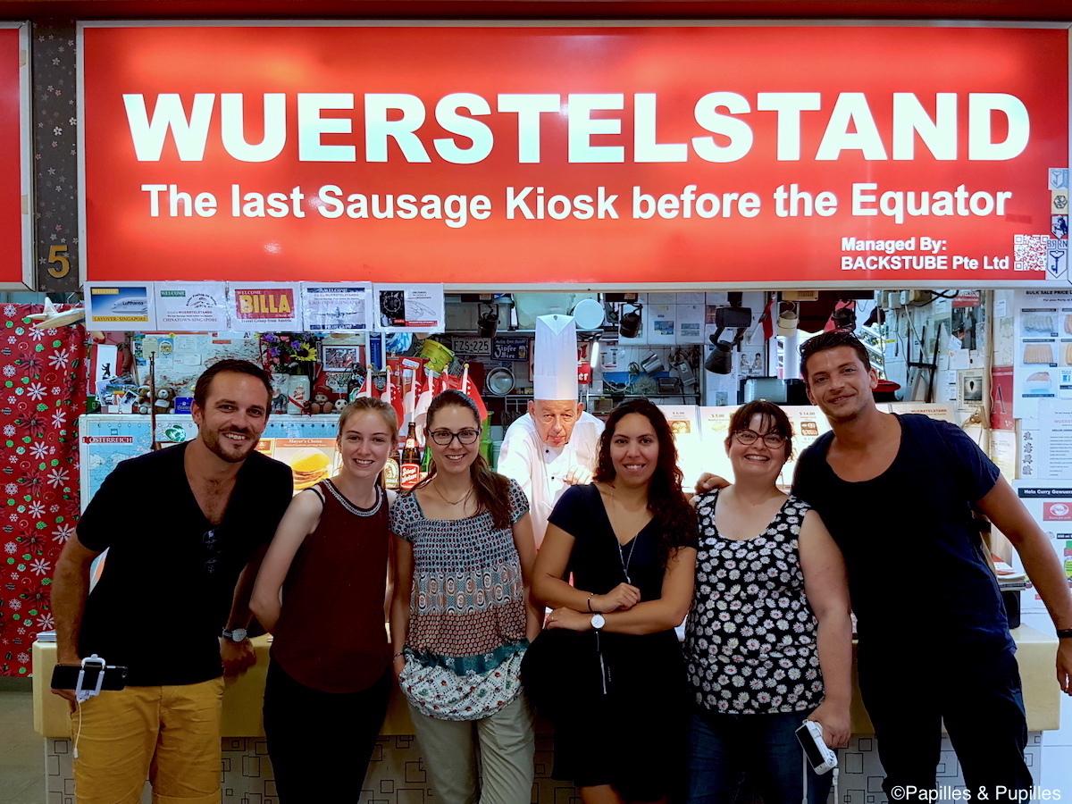 Kiosque à Saucisses - SIngapour