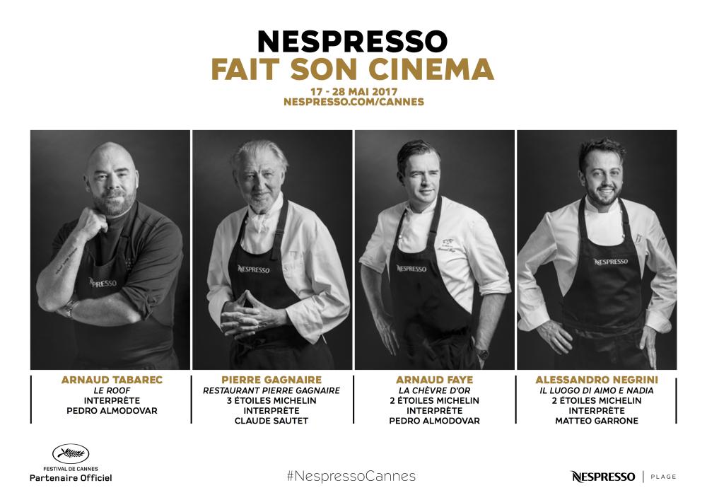 Nespresso fait son cinéma 2017