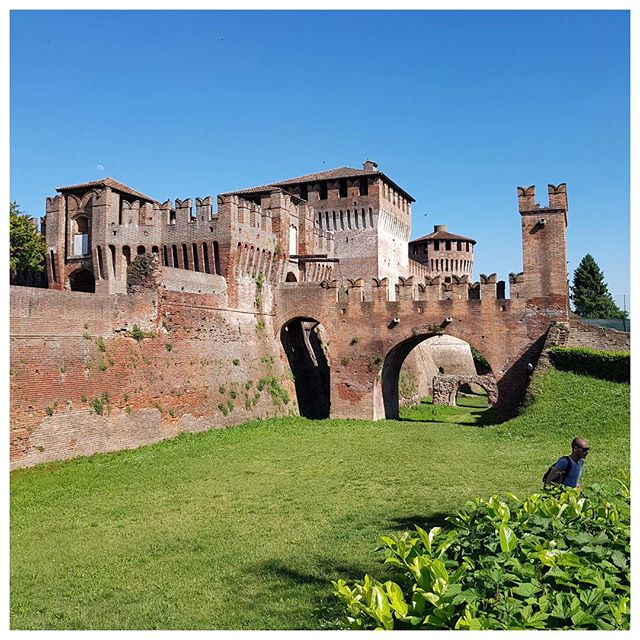 Castello di Soncino, Lombardie, Italie - superbe !