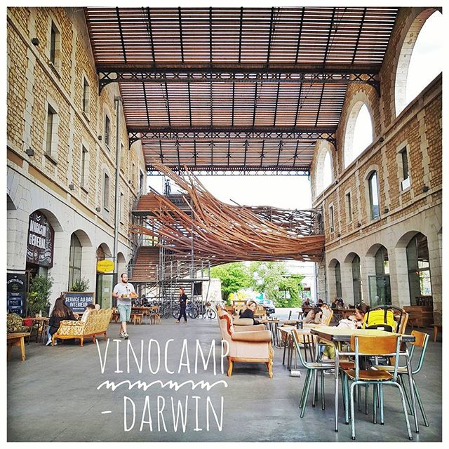Darwin, Bordeaux pour un #Vinocamp consacré au développement durable
