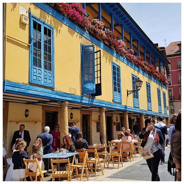 Les maisons si colorées d'Oviedo - Espagne