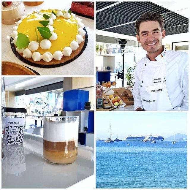 Ce matin j'ai découvert à un petit déjeuner #nespressocannes le travail du pâtissier Jérôme de Oliveira, champion du monde de pâtisserie, basé à Cannes (Intuitions). C'est à tomber par terre tellement c est bon. Ne ratez pas si vous passez par ici