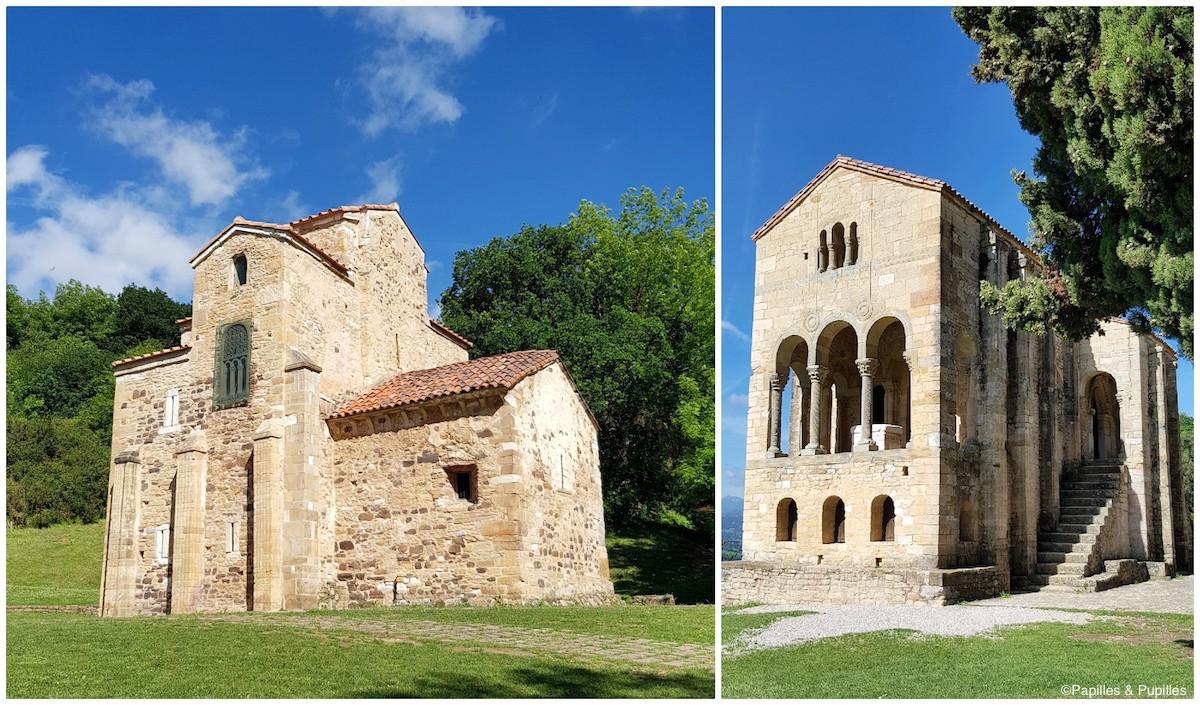 Eglise San Miguel de Lillo - Mont Naranco et Eglise Santa Maria del Naranco d'Oviedo