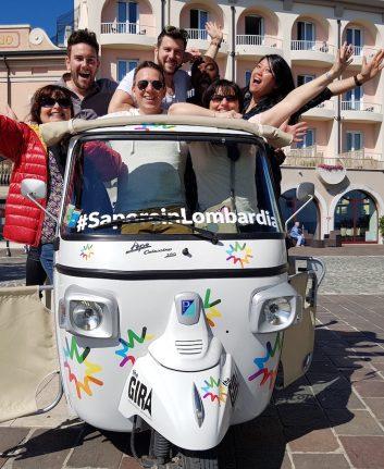 L'Europe en Lombardie