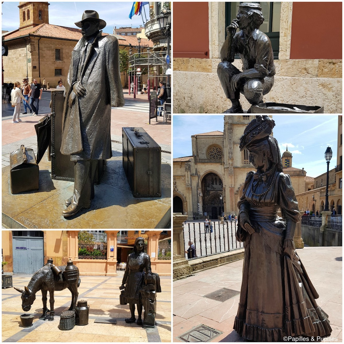 Les Statues d'Oviedo