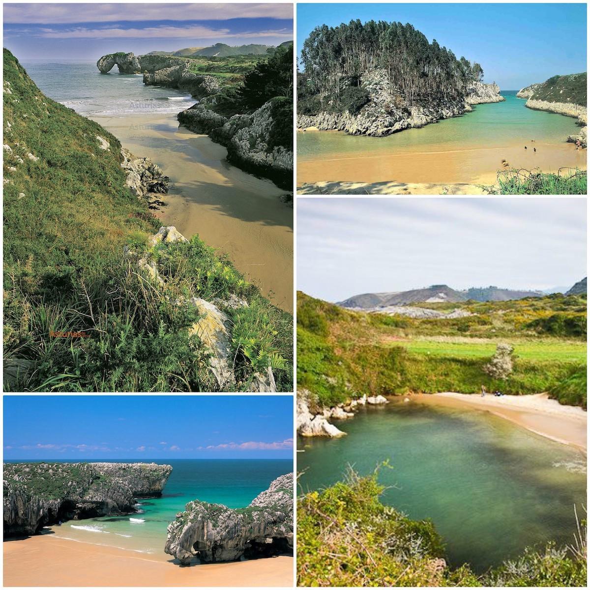 Les jolies plages des Asturies