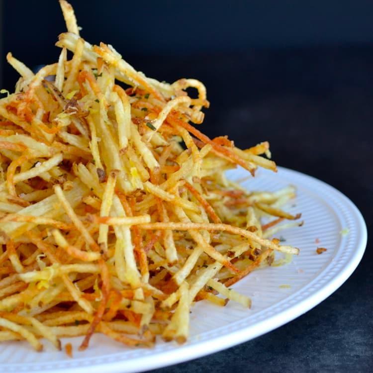 Pommes paille (c) Taste love and nourish