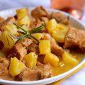 Porc ananas romarin