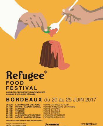Refugee Food Festival Bordeaux