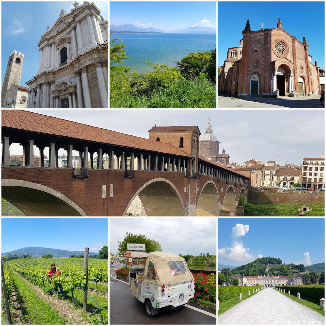 Sur les routes de la Lombardie