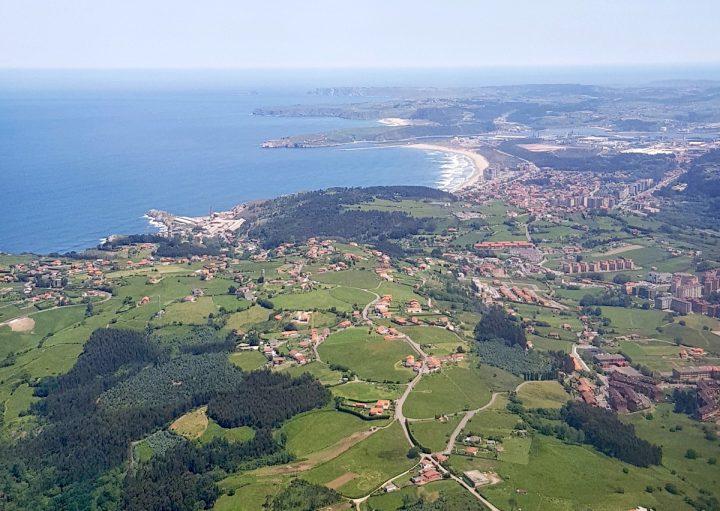 Asturies, vue du ciel
