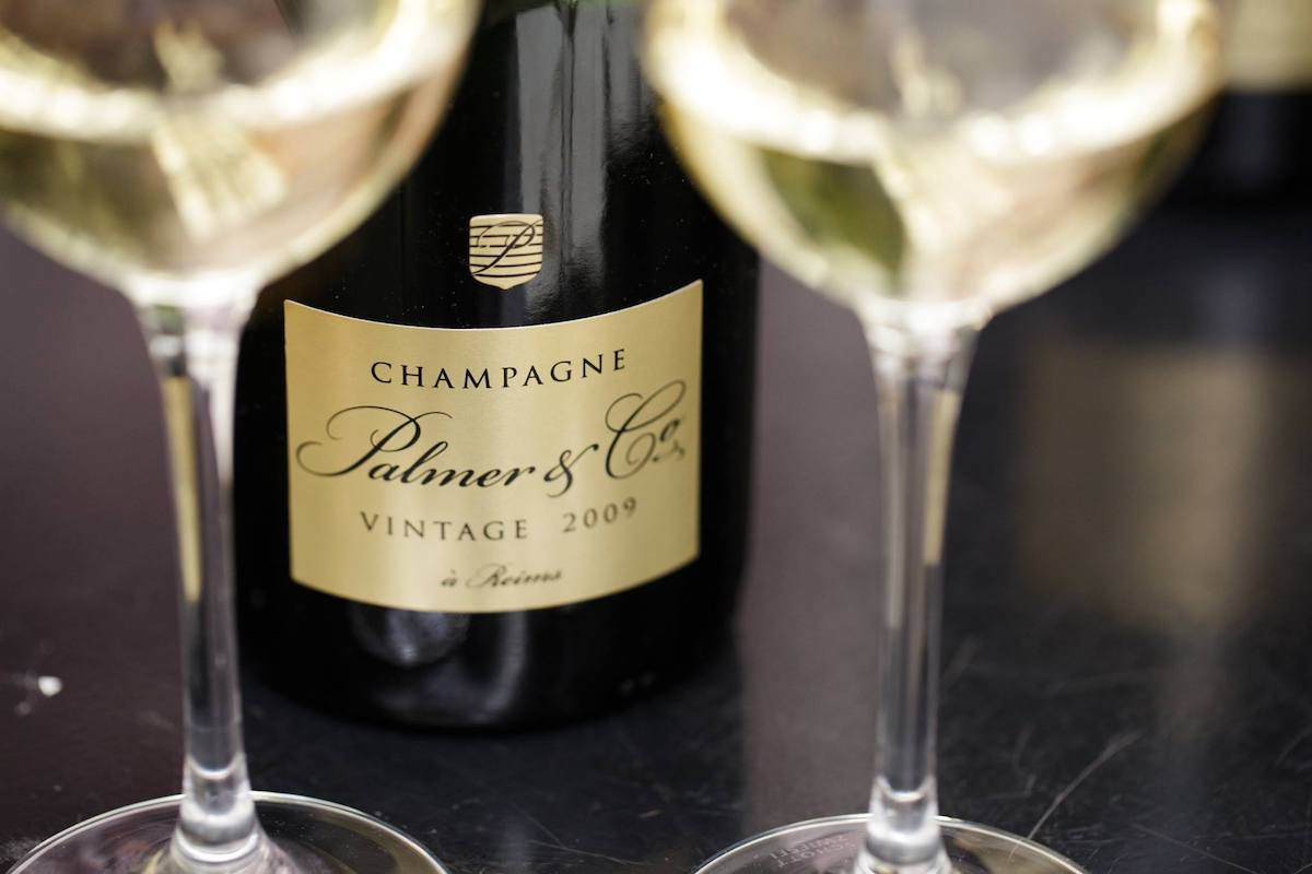 Champagne Palmers & co
