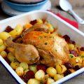 Poulet au chorizo et pommes de terre