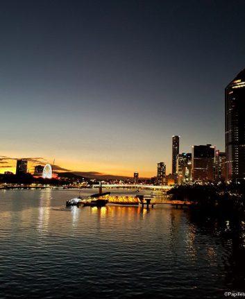 Coucher de soleil Brisbane