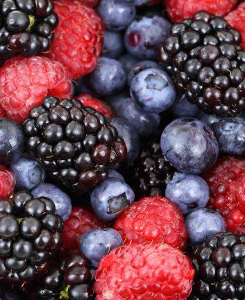 Fruits rouges CC0 pixabay