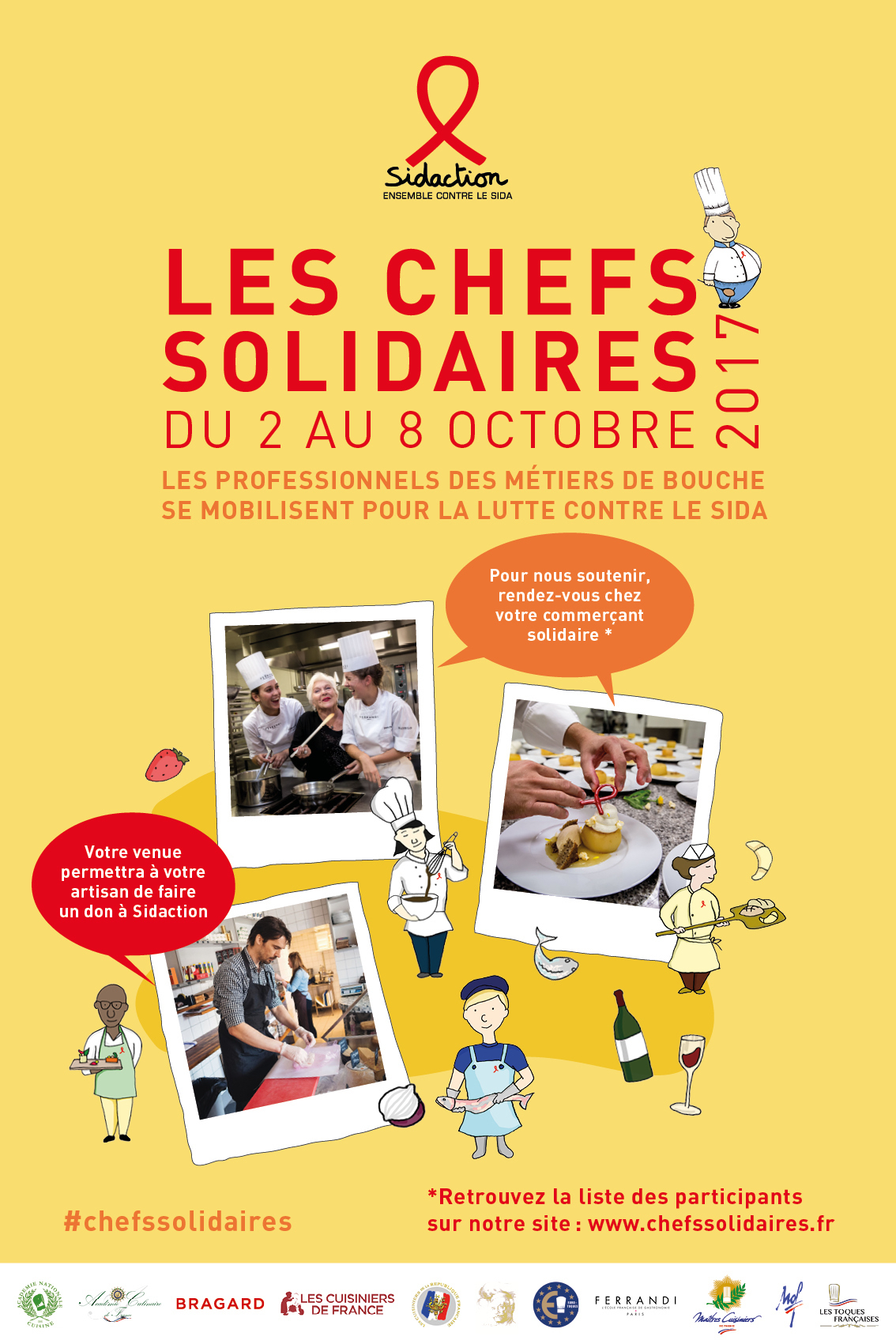 Les chefs solidaires 2017