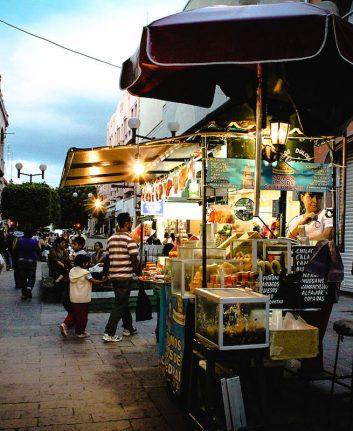 Street food Leon Guanajuato
