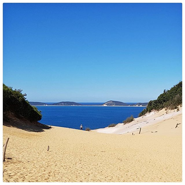 Sandblow Rainbow beach - Australie