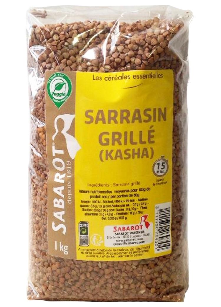 Kasha - Sarrasin grillé