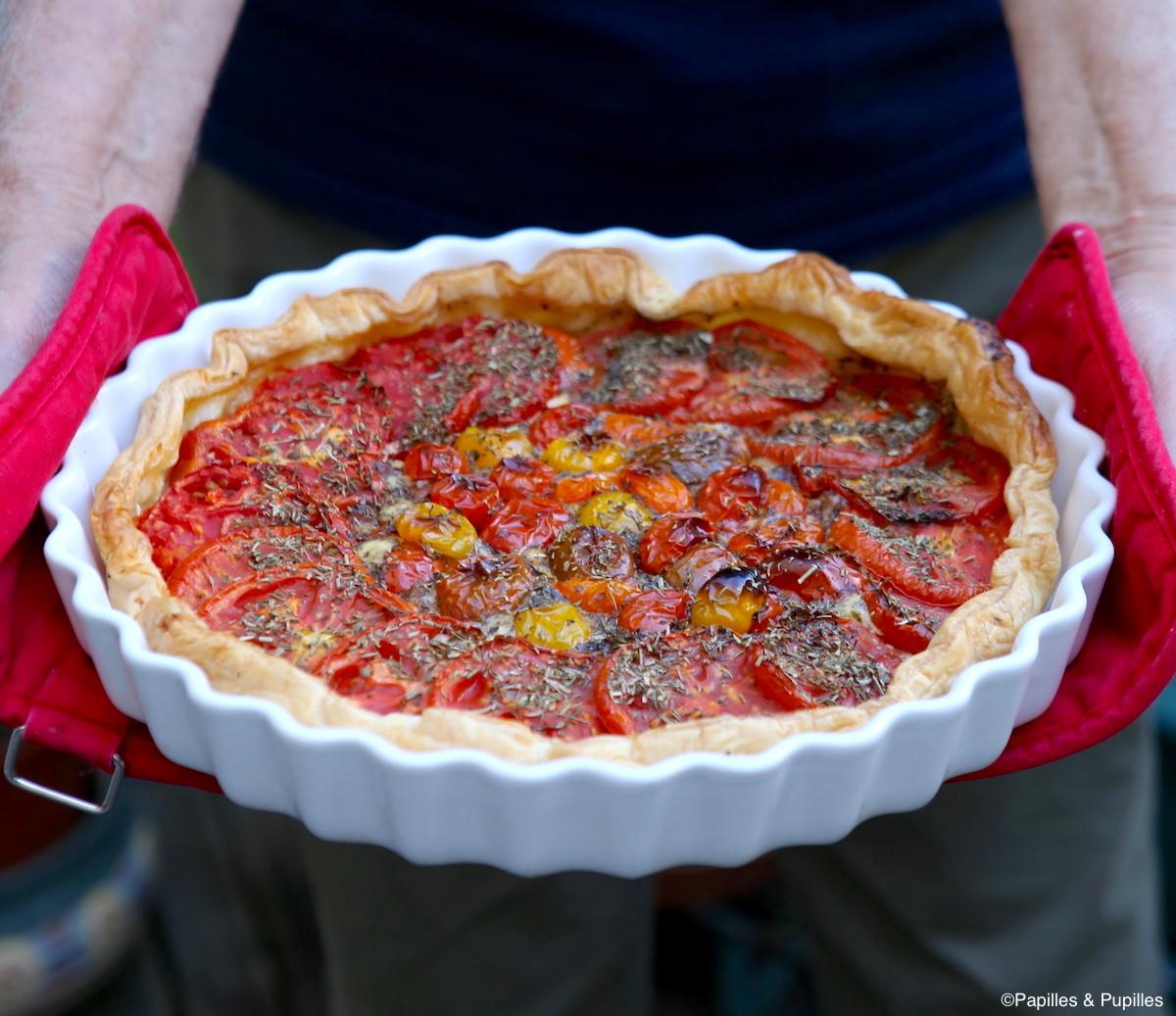 Tarte tomates mascarpone