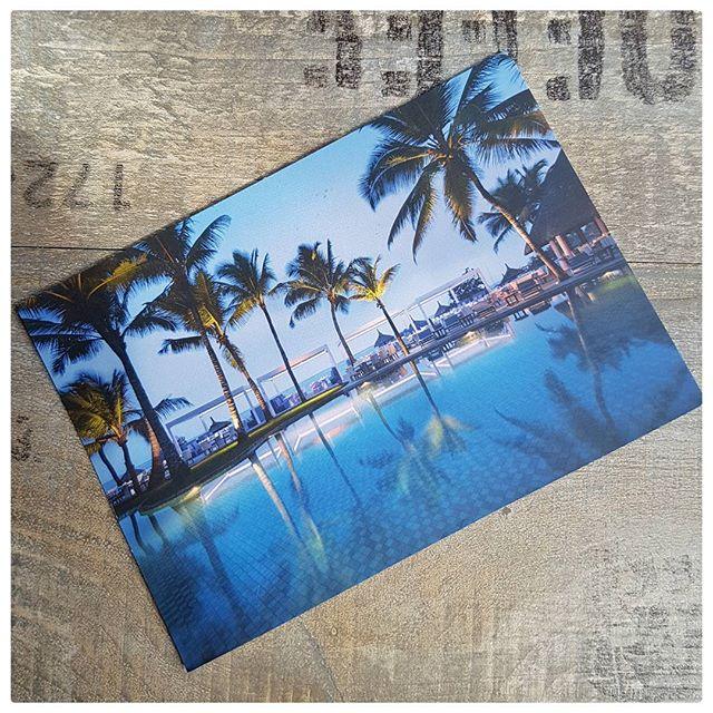 Carte postale de l'île Maurice