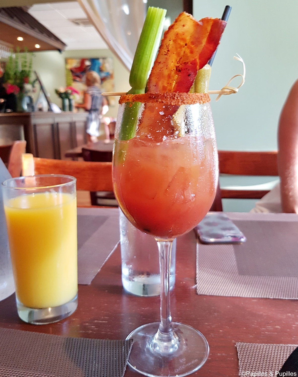 Bloody Mary au bacon