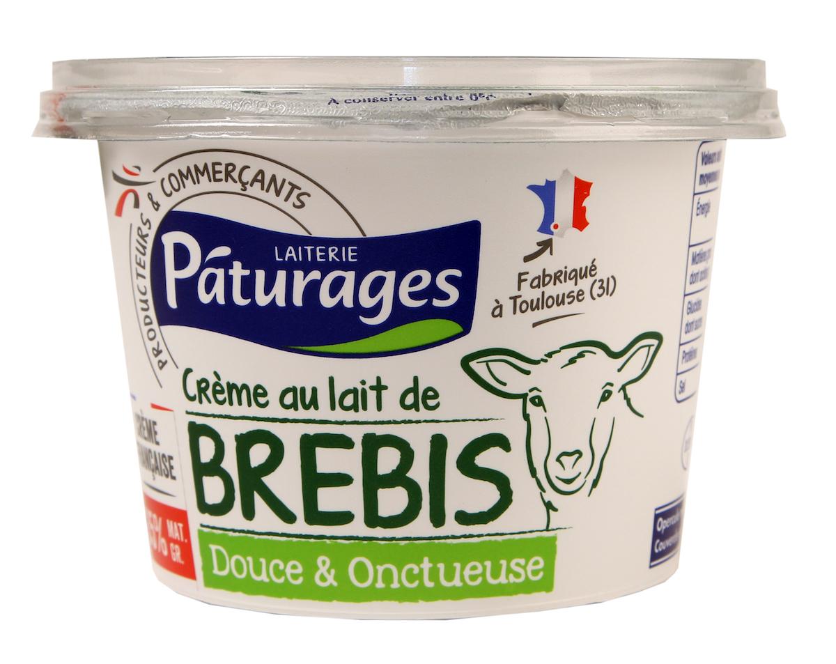 Crème épaisse de brebis Intermarché