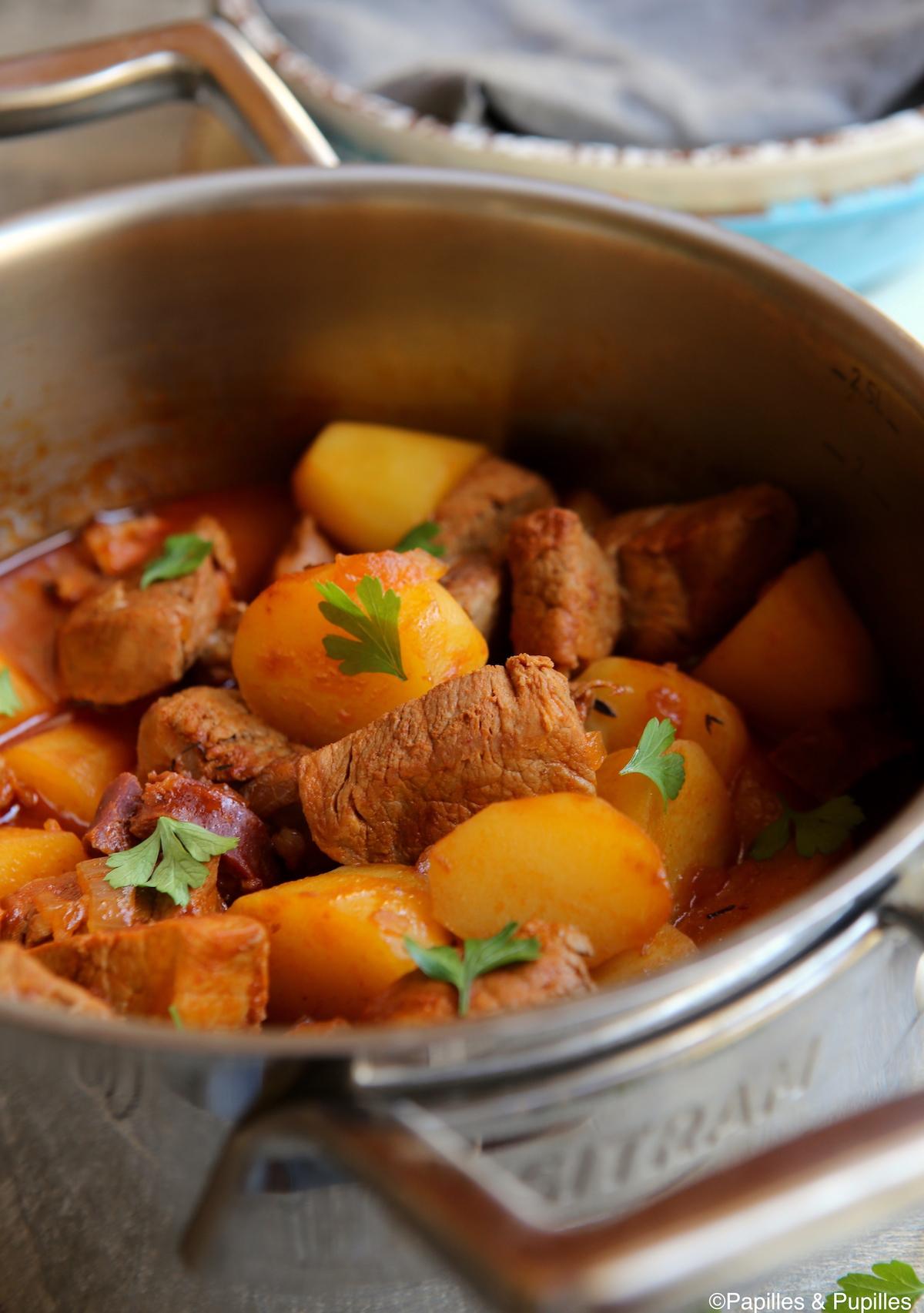 FIlet mignon de porc au chorizo