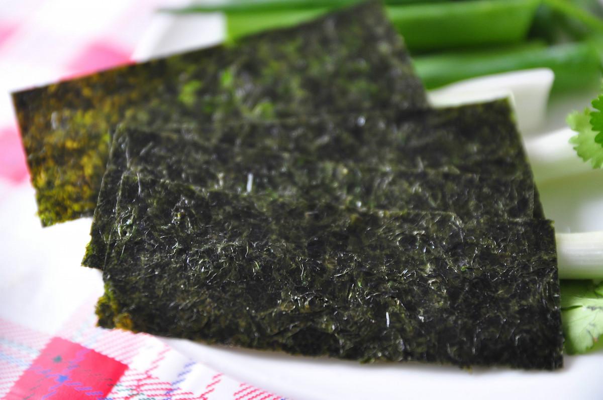 Feuilles d'algues Nori(c) qbaobei.com