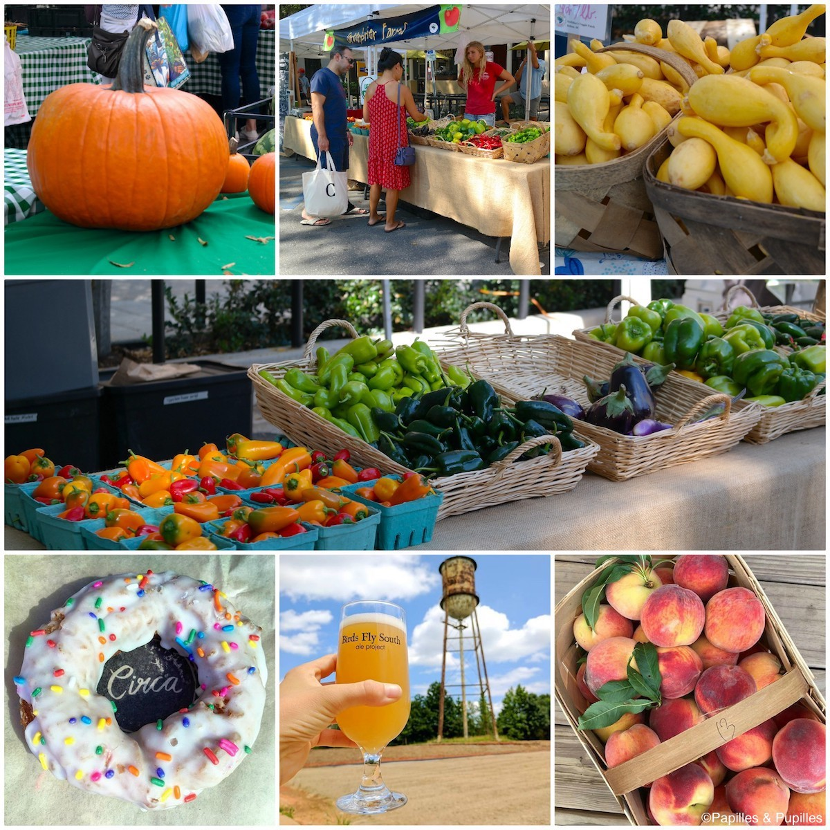 Greenville - Le marché du samedi matin