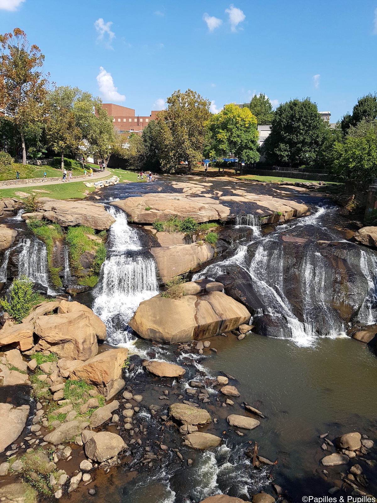 Greenville - Les chutes