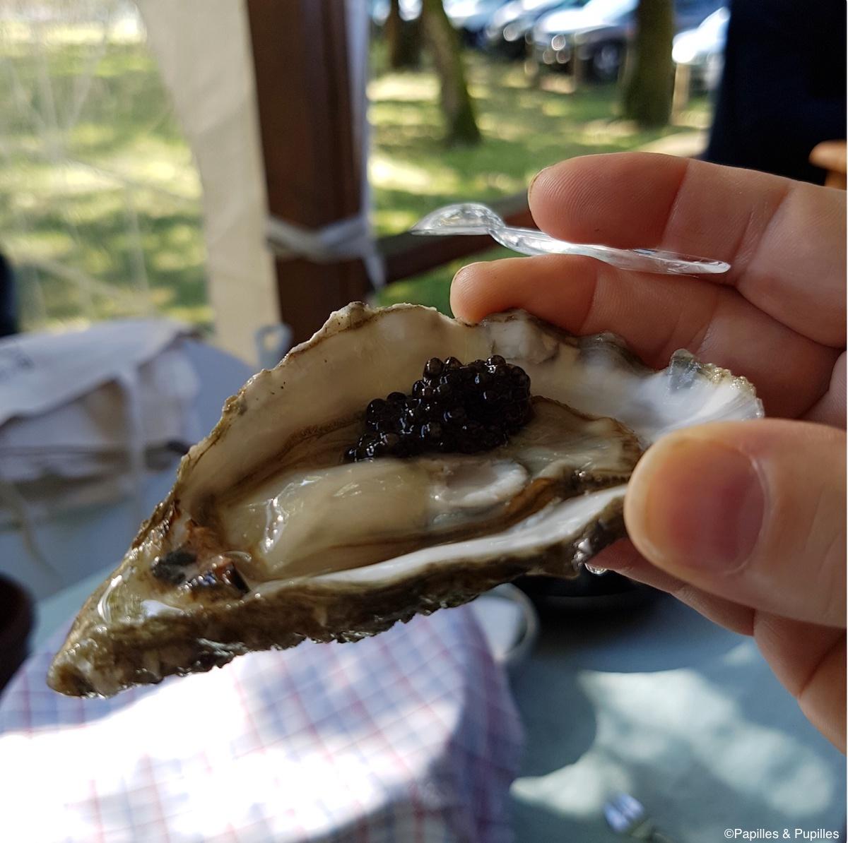 Huître et caviar du Bassin d'Arcachon