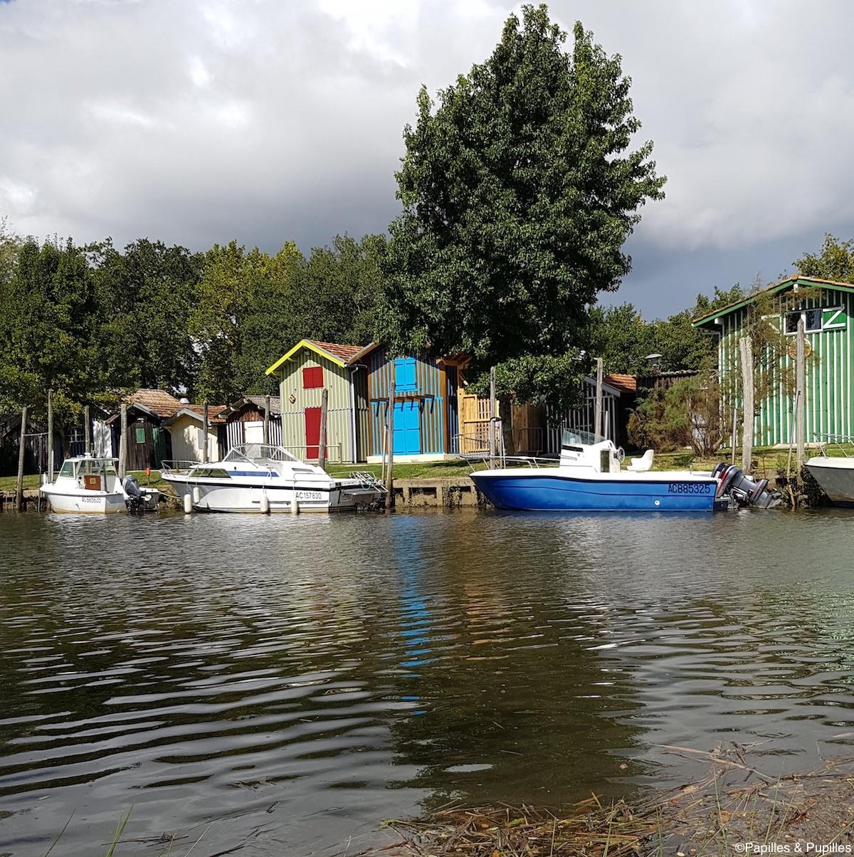 Le joli port de Biganos