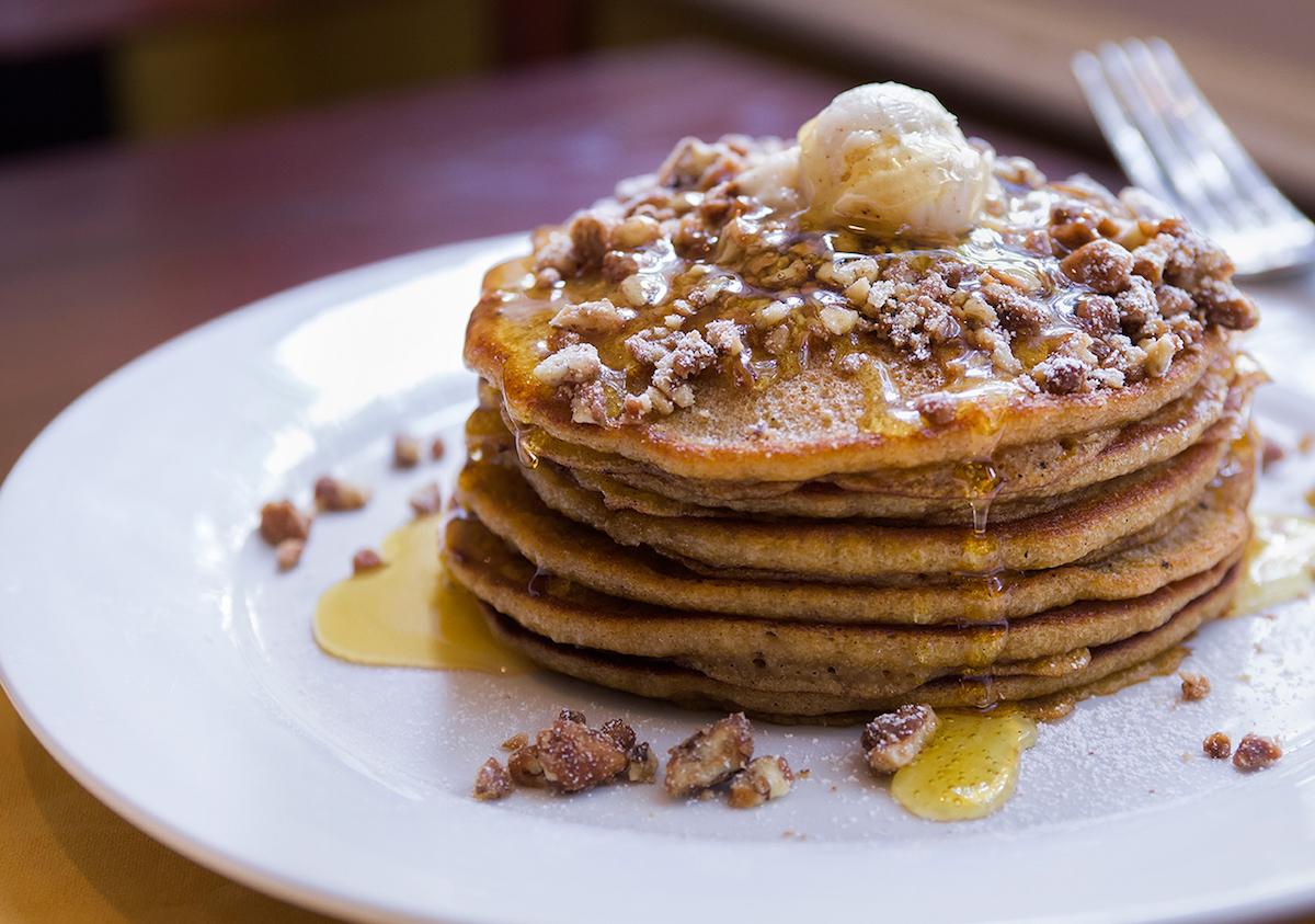 Pancakes aux patates douces